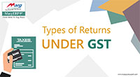 Types of Returns under GST