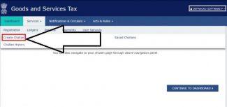 GST Payment process- Step2