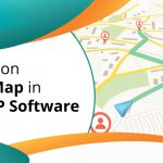 Business on Google Map in Marg ERP Software