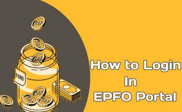 EPFO Member Portal Login