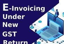 E-invoicing Under New GST Return