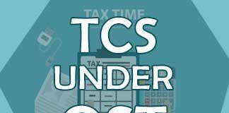 Tcs Under Gst