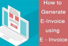 E-Invoicing Portal