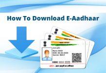 How-To-Download-E-Aadhaar