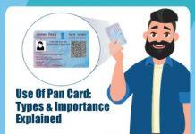 Use-Of-Pan-Card
