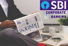 sbi corporate banking