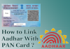 Aadhar link with PAN