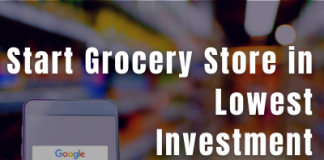 HOw to start grocery store