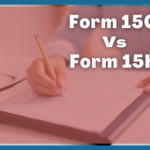 Form 15G and Form !5H