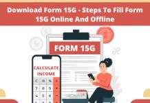 download form 15g
