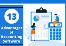 advantage of accounting software